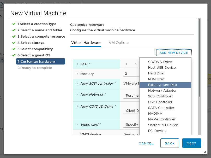Pushing composed images to vSphere | Weldr